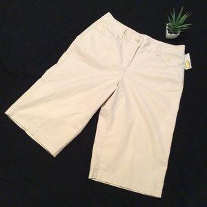 NWT Talbots Size 10P Stretch Shorts